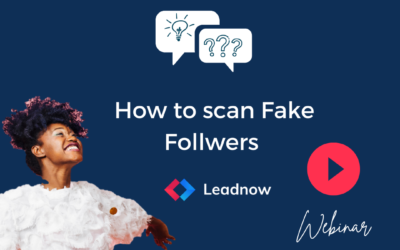 How to scan Fake Followers